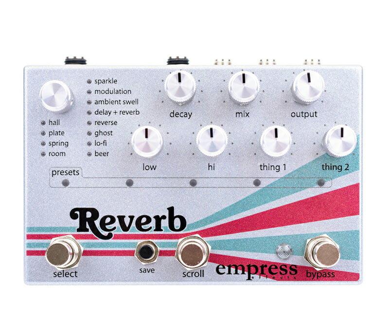 ギター用アクセサリー・パーツ, エフェクター Empress Effects Reverb