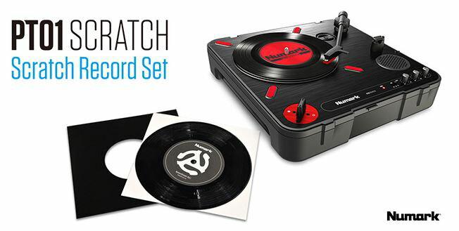 DJ機器, ターンテーブル Numark PT01 Scratch SCRATCH RECORD SET