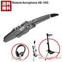 【即納可能】ローランド Roland Aerophone AE-10G GRAPHITE BLACK エアロフォン【今ならウィンドシンセ用スタンド & ヘッドホン プレゼント】【送料無料】【あす楽対応_関東】