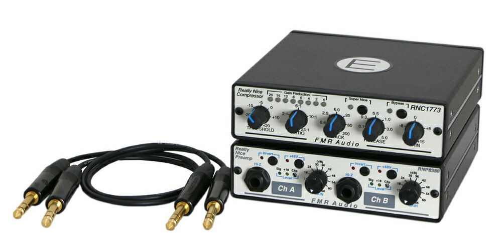 DAW・DTM・レコーダー, その他 FMR AUDIO Really Nice Tracking Combo(E) -RNPRNCTRS Insert cables-
