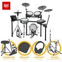 【5月末頃 発送予定】電子ドラム ローランド Roland V-Drums TD-25KV-S Ultra+【ペダル・マット・イス・スティック・ヘッドホン・ハイハットスタンド・スネアスタンド付き】【送料無料】・・・
