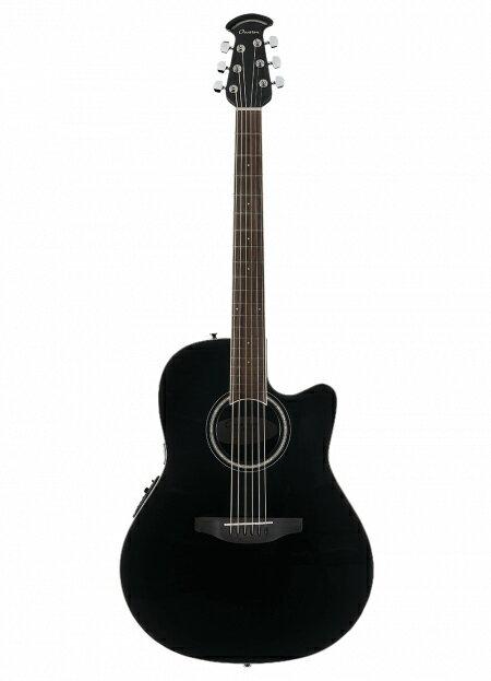 ギター, エレアコギター  Ovation CS24-5 BLK