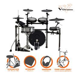 Roland ローランド V-Drums TD-27KV-S Ultra w/KD-180 シングルフルオプションセット