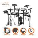電子ドラム ローランドRoland V-Drums TD-17KV-S VH-11Custom 3Cymbal シングルフルオプションセット【送料無料】・・・