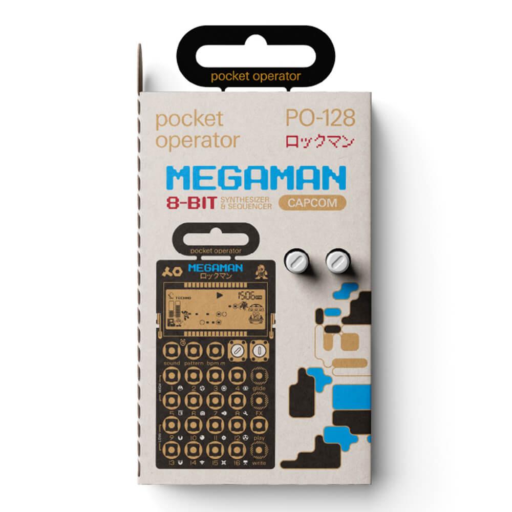 ピアノ・キーボード, キーボード・シンセサイザー Teenage Engineering PO-128 Mega Man ()