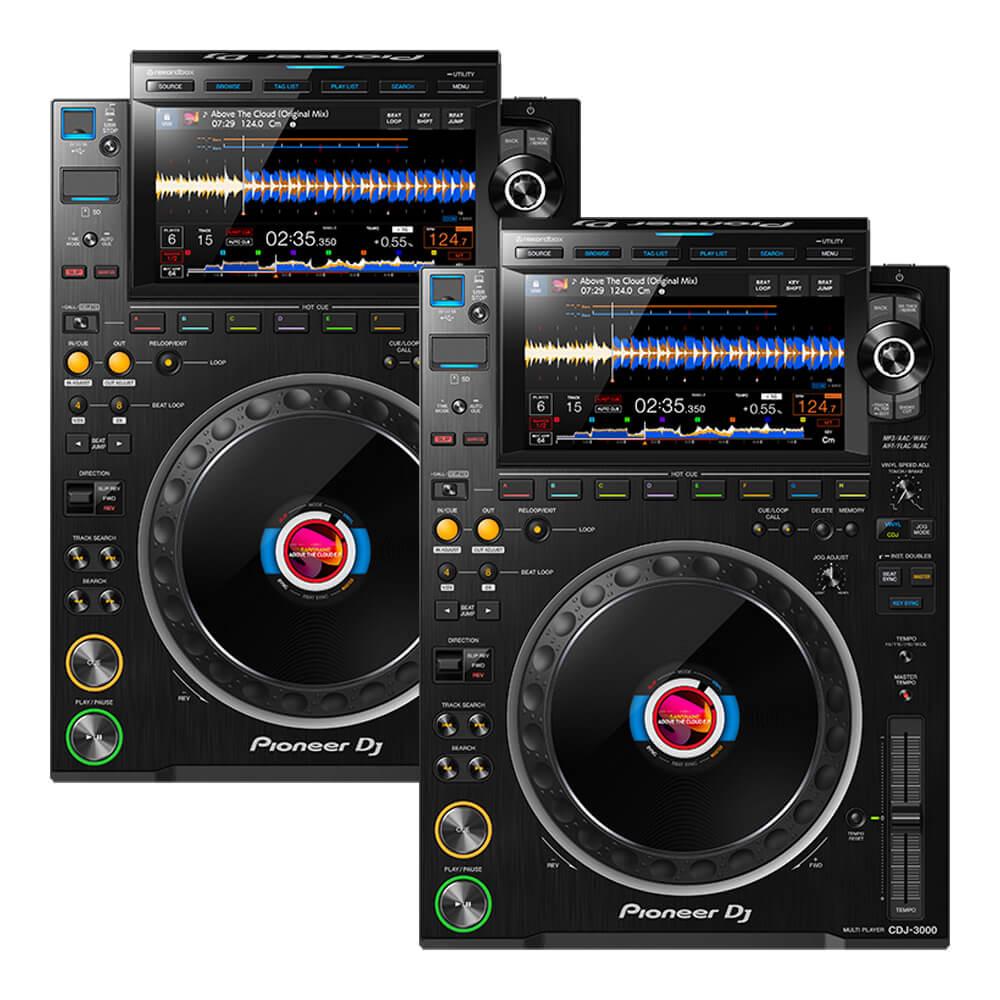 DJ機器, CDJプレーヤー Pioneer DJ CDJ-3000 Twin set