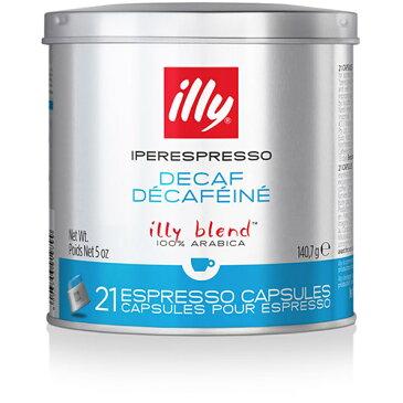 イリー社製 カプセル式 エスプレッソ イリーブレンド デカフェ 21個×1缶 イペールエスプレッソ マシン対応 X7.1 Y3 イタリア illy コーヒー coffee カフェインレス カフェラテ カフェオレ カプチーノ エスプレッソマシン コーヒーマシン キーコーヒー keycoffee