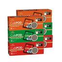 キーコーヒー CafePOD 3種のコーヒーセット 各20杯分 × 計6箱 【カフェポッド 60mmタイプ】