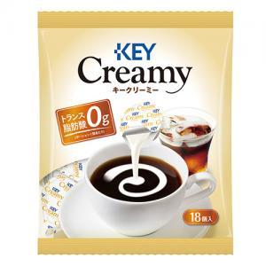 キーコーヒー クリーミーポーション (4.5ml x 18個) x 1袋
