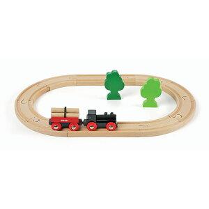 BRIO(ブリオ) Little Forest train starter set (小さな森の基本レールセット)
