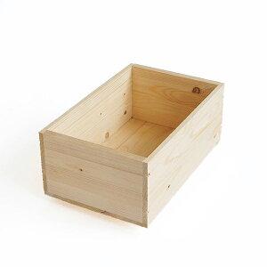 期間限定レビューを書いて木工用みつろうクリームプレゼント♪木のはこ屋 りんご箱 A1.5K(取っ...