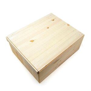 期間限定レビューを書いて木工用みつろうクリームプレゼント♪木のはこ屋 りんご箱 A10K(フタ...