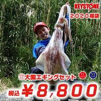 【2020福袋】(15)キーストン大園エギングセット