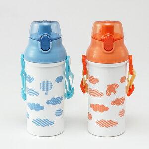 KEYUCA(ケユカ) くも キッズ水筒[水筒 キッズ 直飲み 男の子 女の子 子供 ジュニア 小児用 遠足 通園 通学 雲 おしゃれ オシャレ シンプル かわいい 日本製 ブルー,ピンク ギフト プレゼント 通販 楽天]