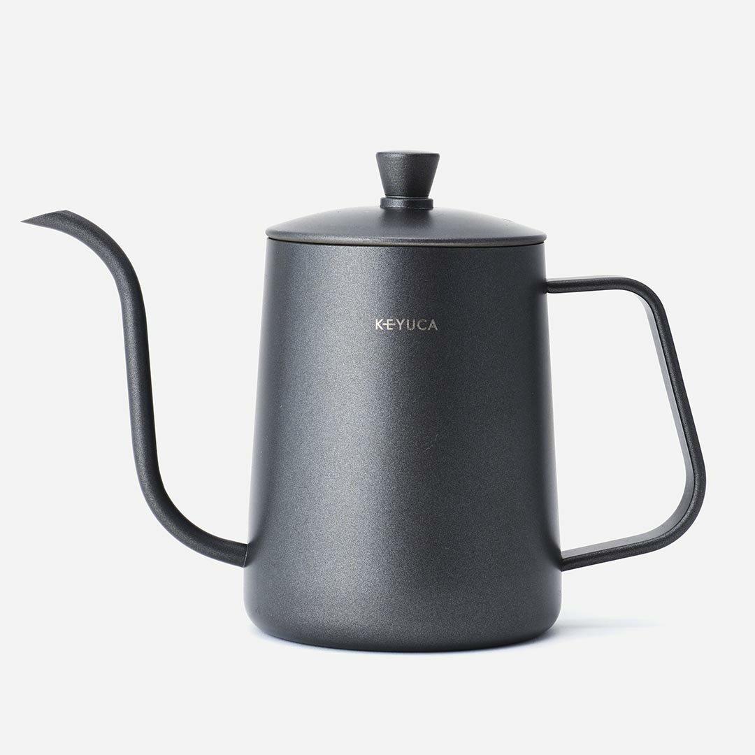 KEYUCA ケユカ DENK ドリップポット 600ml   コーヒードリップポット ステンレス 細口 ポット コーヒーポット 約4杯分 おしゃれ オシャレ シンプル 引越し祝い ギフト コーヒー グッズ ケトル ステンレスケトル コーヒーケトル コーヒー器具