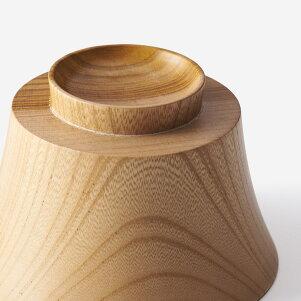 KEYUCA(ケユカ)食洗国産椀オウギ白木