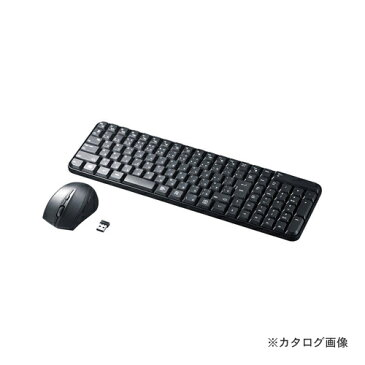 サンワサプライ マウス付きワイヤレスキーボード SKB-WL25SETBK