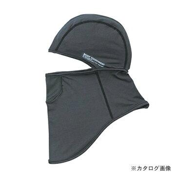 おたふく手袋 BT冷感 パワーストレッチ フルフェイスマスク グレー 5枚セット JW-614-GRY
