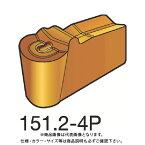 サンドビック T-Max Q-カット 突切り・溝入れチップ H13A 超硬 10個 N151.2-400-40-4P:H13A
