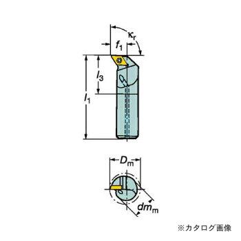サンドビックコロターン111ポジチップ用ボーリングバイトF12Q-SDUPR07-ER
