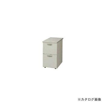 ナイキ脇デスク2段NED047A-AWH