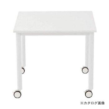 アールエフヤマカワキャスターテーブル脚W800xD800RFCTT-WL8080WH