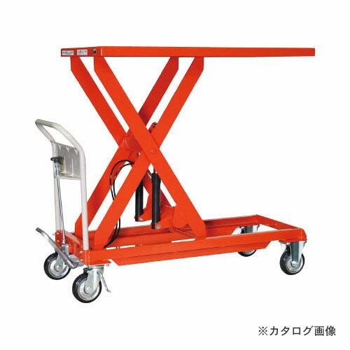 TRUSCO ハンドリフター 500kg 600X1200 HLF-S500L:工具屋「まいど!」