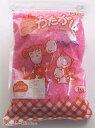 【部品商品】 わた菓子用ザラメ 夢わたがし イチゴ (1kg×20袋入)【他商品との同梱配送不可・代引不可】