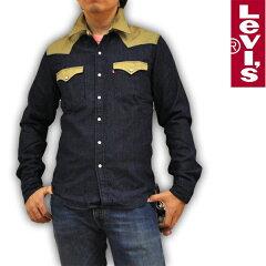リーバイス Levi's ウエスタンデニムシャツ 65816-0070 RED TAB メンズ