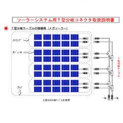 【送料無料】ソーラーケーブルPV-CCケーブルMulti-Contact社製MC4コネクタ2分岐(2本1セット)各条長1m