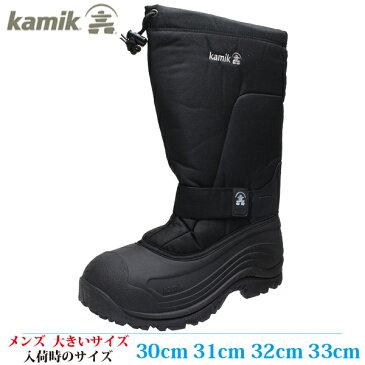 【スノーブーツ スノーシューズ 32cm メンズ ビッグサイズ】 KAMIK カミック GREEN BAY 4 (グリーンベイ 4) 1600076-190 BL