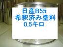 日産B55 塗料 キューブ キュービック