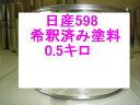 日産598 塗料キャラバン