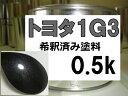 トヨタ1G3 塗料 グレーM シエンタ 希釈済