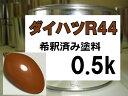 ダイハツR44 塗料 アプリコットキャンディM ムーブラテ