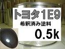 トヨタ1E9 塗料 ダークグレーマイカM ランドクルーザー ...