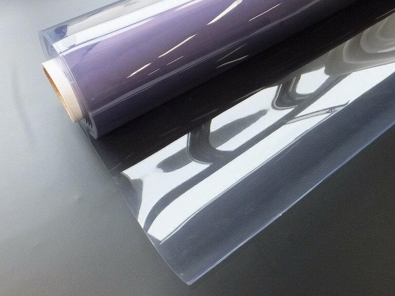 ビニールシート 透明ロール巻 2.0mm×183cm幅×10m巻=1巻タフニールトップシート 透明デスクマット/テーブルクロス/養生用:芳賀ビニール