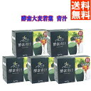 【送料無料】お得な5箱セット『厳選素材の酵素青汁』(3gパック×25袋)×5箱