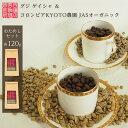 煎りたて おためし セット エチオピア グジ ゲイシャ & コロンビア KYOTO農園 オーガニック 各120g スペシャルティコーヒー コーヒー豆 最短当日焙煎発送