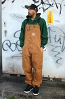 CARHARTT(カーハート) / W-KNEE DUCK BIB OVERALL (ダックオーバーオール) / washed carhartt brown  USワークライン
