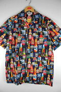 """PACIFICLEGEND(パシフィック・レジェンド)/""""BEER""""ALOHASHIRTS(アロハシャツ)/navy"""