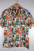 """PACIFICLEGEND(パシフィック・レジェンド)/""""BEER""""ALOHASHIRTS(アロハシャツ)/white"""