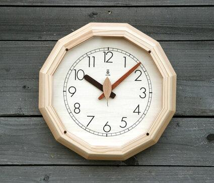 「キコリの時計」 木の電波時計