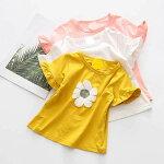 【メール便で送料無料】キッズ半袖カットソーチュニック女の子Tシャツ90cm100cm110cm120cm130cm140cm