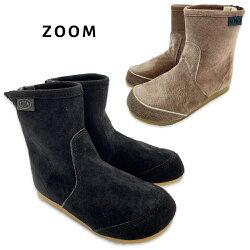 ≪ズーム/ピープ≫Z1785/16cm,17cm,18cm/黒,茶SoftPecos(スエード)[ブーツ][靴][ZOOM/PEEP]【RCP】