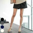 【メール便可】【マタニティ パンツ】マタニティ パンツ ショートパンツ 夏 ワイド 妊婦服 妊婦 マタニティショートパンツ/SBP72010