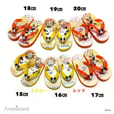 お値下げ!【ampersand】ディズニーキャラクタービーチサンダル