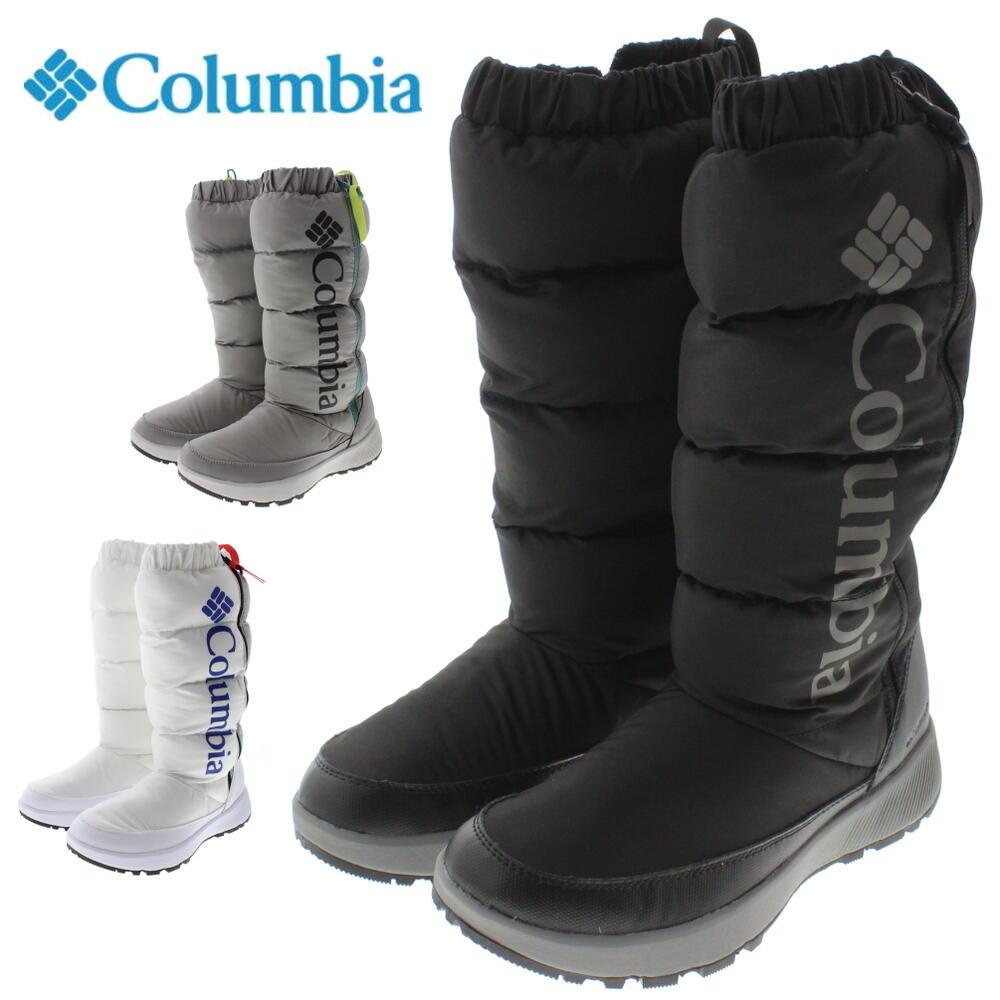 コロンビア Columbia ブーツ パニナロ オムニヒート トール BL0119 ブラック/ストラタス(010) チタニウム/ボルテージ(029) ホワイト/コバルトブルー(101)【GOFO】画像