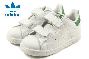 定番 子供 アディダス adidas STAN SMITH CF I スタンスミス CF I FTWホワイト/FTWホワイト/グリーン M20609