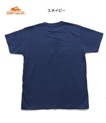 クリフメイヤーメンズブランドロゴ半袖Tシャツ(BOX)SMLXL1819905大人ジュニアメンズレディースオフピンクネイビーノベ対象新作19春夏KRIFFMAYER